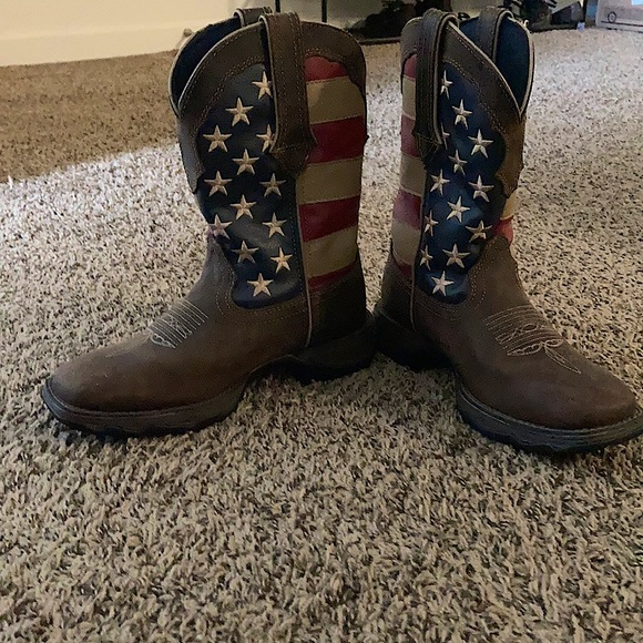 Durango Leather Western Cowgirl Boots (6M)